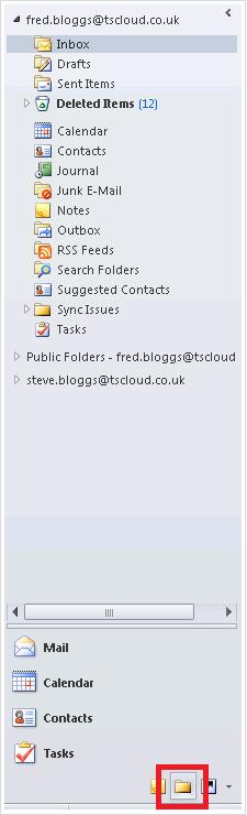 Hosted Desktop UK Help | Public Folders