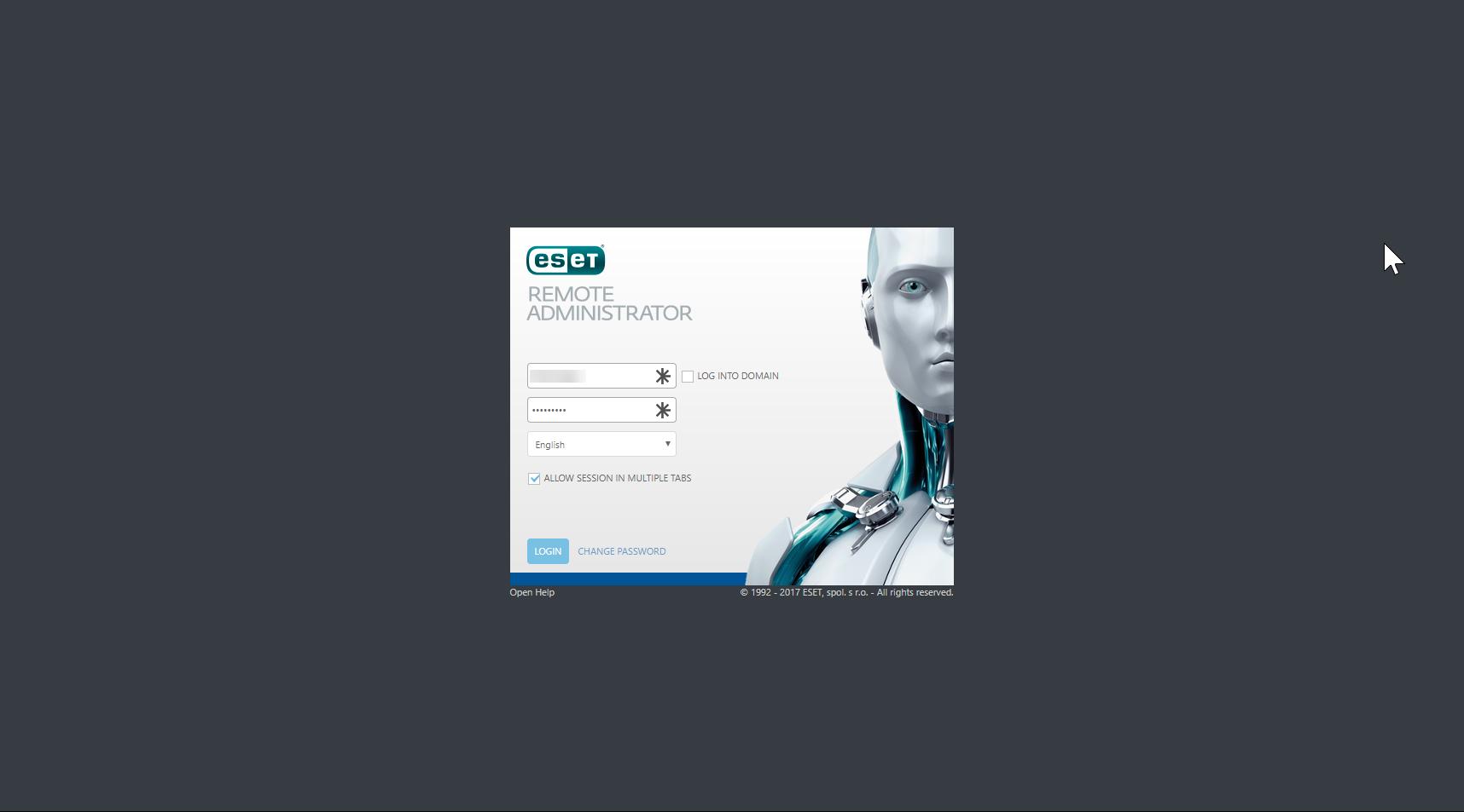 Hosted Desktop UK Help | Logging into Control Panel